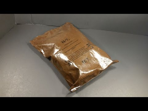 2016 Hungarian 24 Hour Combat Ration MRE Review Meal Ready to Eat Taste Test