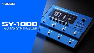BOSS SY-1000 Guitar Synthesizer - A New Era of Guitar Synth Innovation