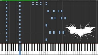 The Dark Knight Medley - The Dark Knight Trilogy [Piano Tutorial] (Synthesia)