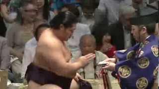 平成25年秋場所9日目 sumo 大相撲 遠藤.
