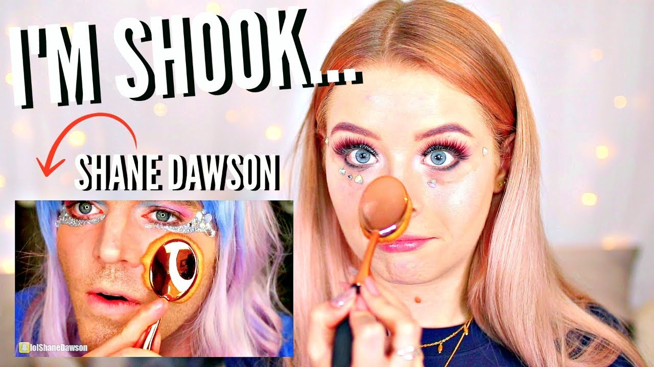 I Tried Following A Shane Dawson Makeup Tutorial Yes Thats Right Shane Dawson
