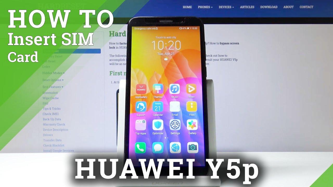 Sim Slot Defekt Tablet Huawei