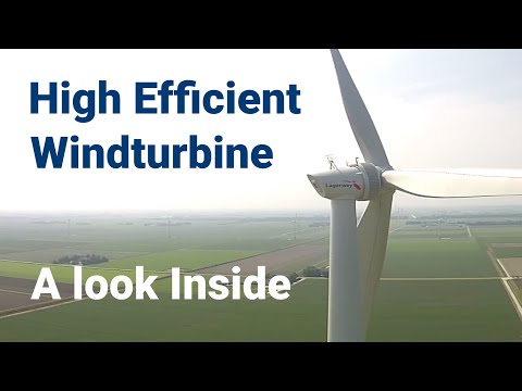 Lagerwey | Inside an Efficient Large Wind Turbine
