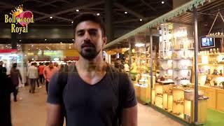 Saqib Saleem SPOTTED At Mumbai International