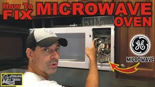 how to fix ge microwave oven phillips