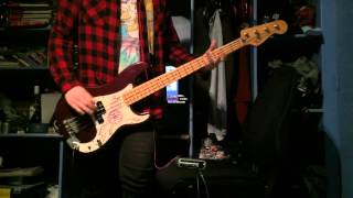 Green Day - She's A Rebel Bass Cover