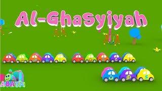 Murottal Juz Amma AL GHASYIYAH Animation 3D Learning Letters Arabic Alphabet by Abata