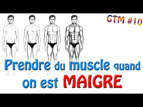 💪 Prendre du MUSCLE quand on est MAIGRE (ectomorphe)! GAGNE ton MUSCLE #10 💪 Musculation ksCoaching