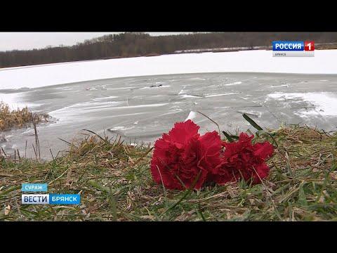 В Сураже трое детей провалились под лёд