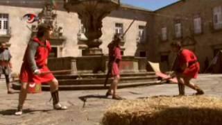 "REPORTECH TV - ESCOLA DE GLADIADORES ESPADA LUSITANA - ""Reviver Bracara Augusta"""