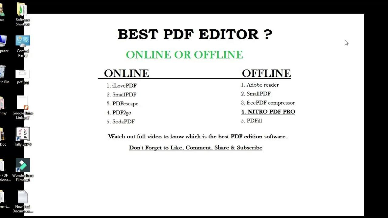 Nitro PDF Pro 7 - Best PDF Editor Full Version