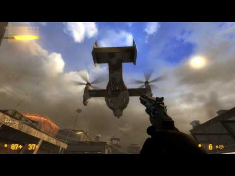 Weird Black Mesa glitch
