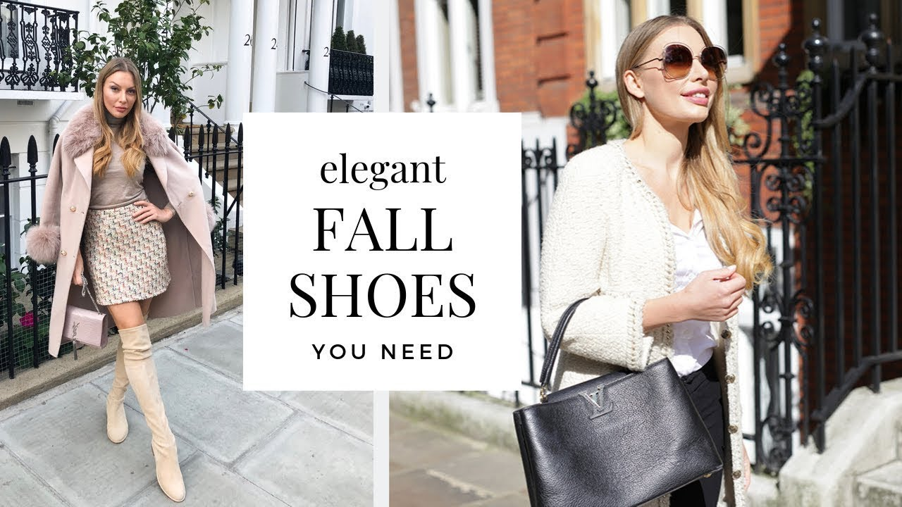 [VIDEO] - Top 5 Elegant Shoes For Fall 2