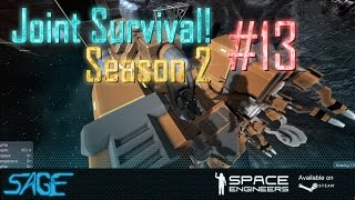 Space Engineers, Joint Survival, S2 #13 (Camel Printing?)