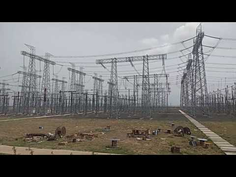 (PGCIL) Power Grid Corporation of India Ltd. Substation in Hatunuya,Sanwer,Indore (M.P.)