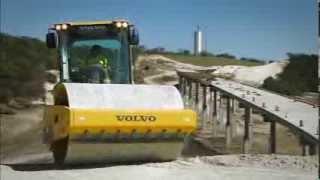 Duże walce do gruntu Volvo SD75, SD115 i SD135. Siła do działania.