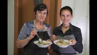 Рецепт супа с жареной мукой от Татьяны Ренье Gebrentemelsupp