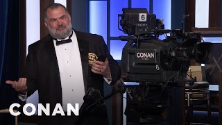 Tony The Cameraman Thinks He's Rich  - CONAN on TBS