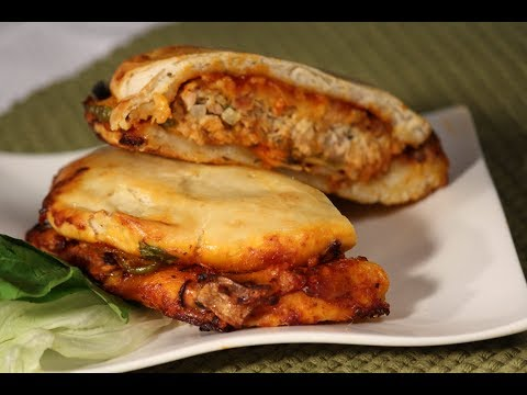 recipe of chicken pizza by sanjeev kapoor