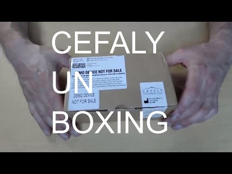 cefaly-unboxed:-wearable-migraine-treatment-/-prevention