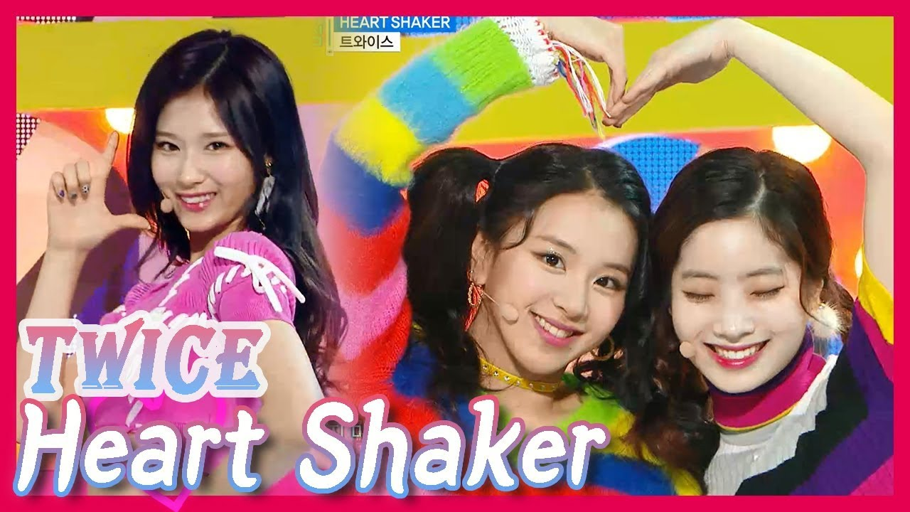 Comeback Stage  TWICE - HEART SHAKER 4cf90bab2