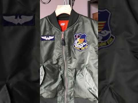 Áo Khoác MA-1 Ruột Vàng Của Phi Công Mỹ