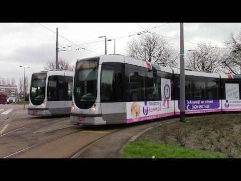 Rotterdamse Trams in Rotterdam Straßenbahn