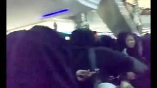 رقص بنات وشباب السعودية في اليوم الوطني.