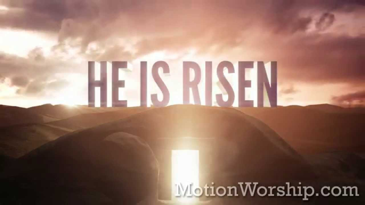 He Is Risen Easter Tomb He ...