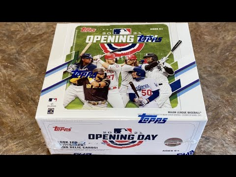 NEW RELEASE!  2021 TOPPS OPENING DAY BASEBALL CARDS!