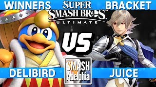 Smash Ultimate - Delibird (DDD) vs Juice (Corrin) - SDA Ultimate Winners Bracket