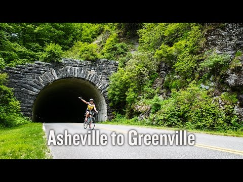 Asheville to Greenville Bike Tour Video | Backroads