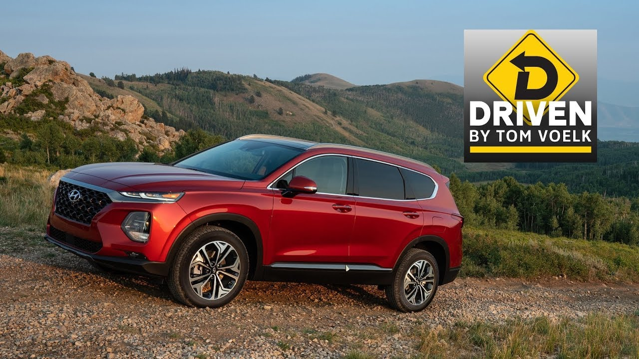 Driven 2019 Hyundai Santa Fe Ultimate 2 0t Awd Car Review