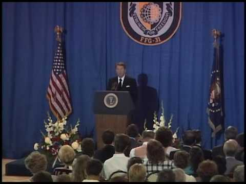 President Reagan's Remarks at the Memorial service for the USS Stark, May 22, 1987