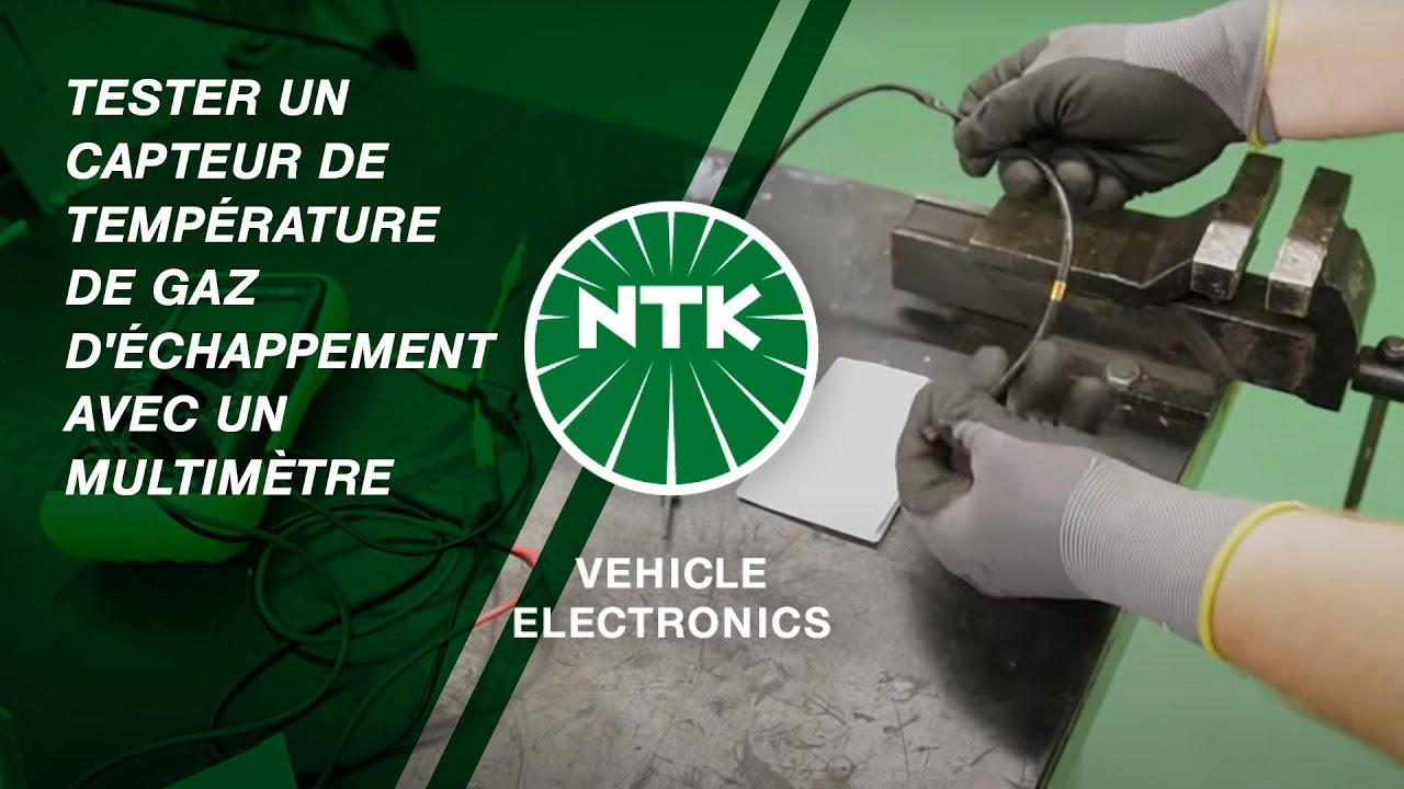 Tester un capteur de température de gaz d'échappement avec un multimètre  YouTube