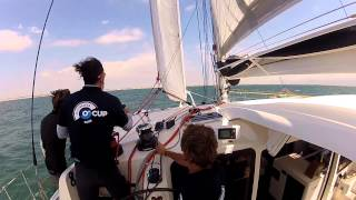 2015 Outremer CUP on an Outremer 5X