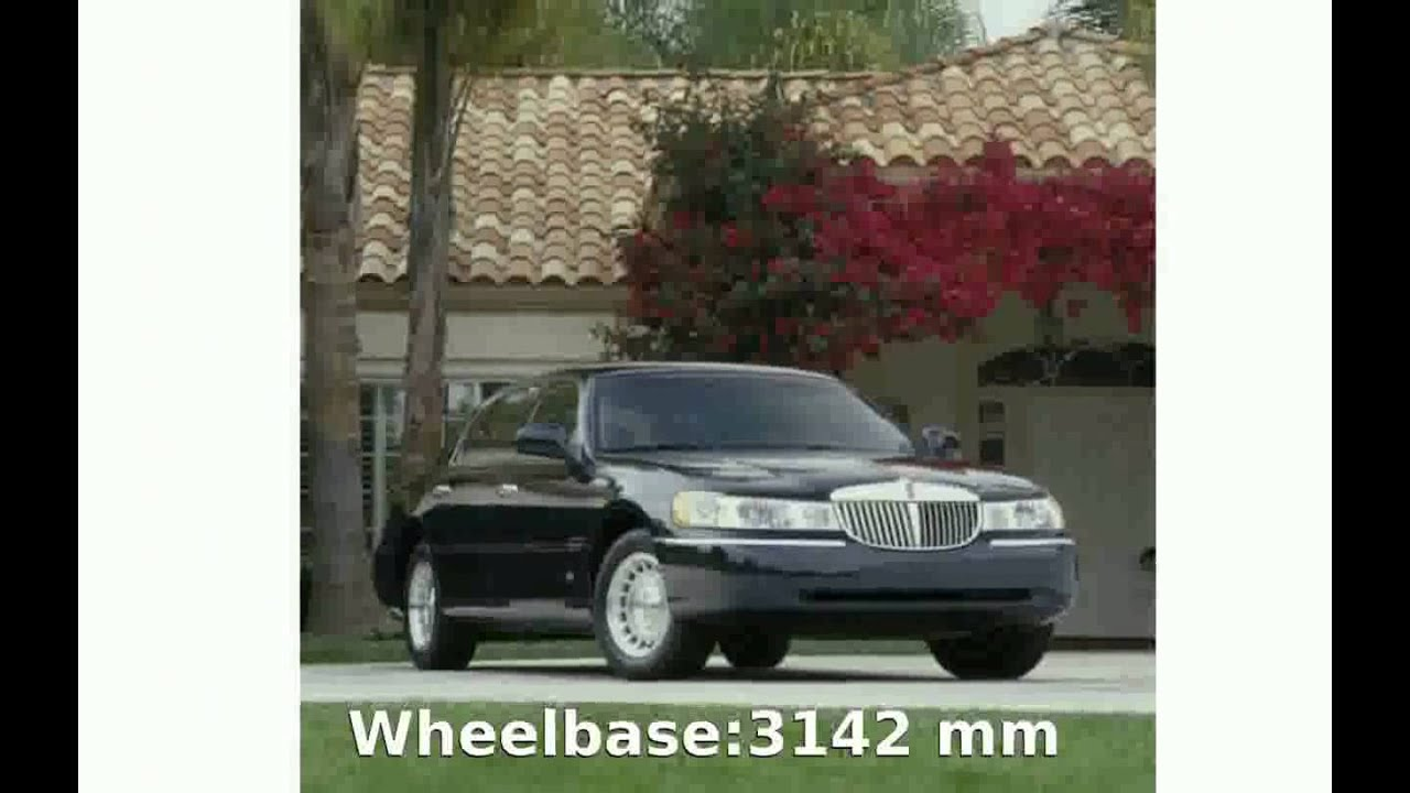 2001 Lincoln Town Car Cartier L Specs Specification Youtube