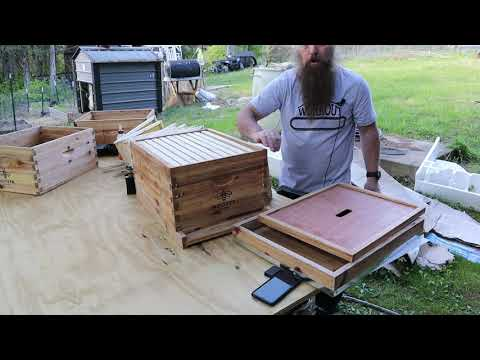 Hoover Brand Langstroth Bee Hive Assembly-these Are Awesome