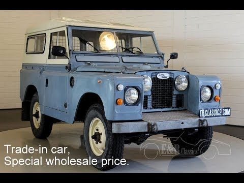 land rover 88 series ii a 1963 video www erclassics com youtube