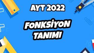 Fonksiyon Tanımı (Soru Çözümlü)  AYT Matematik 2021 hedefekoş