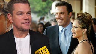 Matt Damon REACTS to Ben Affleck and Jennifer Lopez's Rekindled Romance