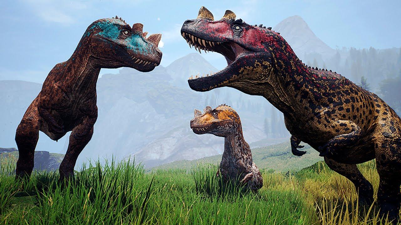 Download Irmãos Ceratossauros, O Grande Espinossauro + Traidores da Espécie   The Isle   (PTBR)