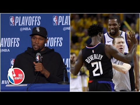 Kevin Durant had fun playing against Patrick Beverley | NBA Sound