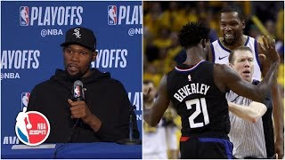 Download Kevin Durant had fun playing against Patrick Beverley | NBA Sound Mp3 and Videos
