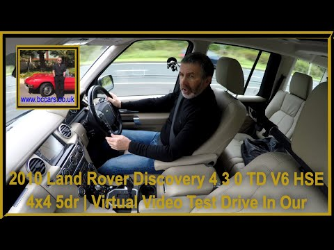 Virtual Video Test Drive In Our Land Rover Discovery 4 3 0 TD V6 HSE 4x4 5dr