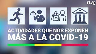 Actividades con más RIESGO DE CONTAGIO de coronavirus   La Mañana