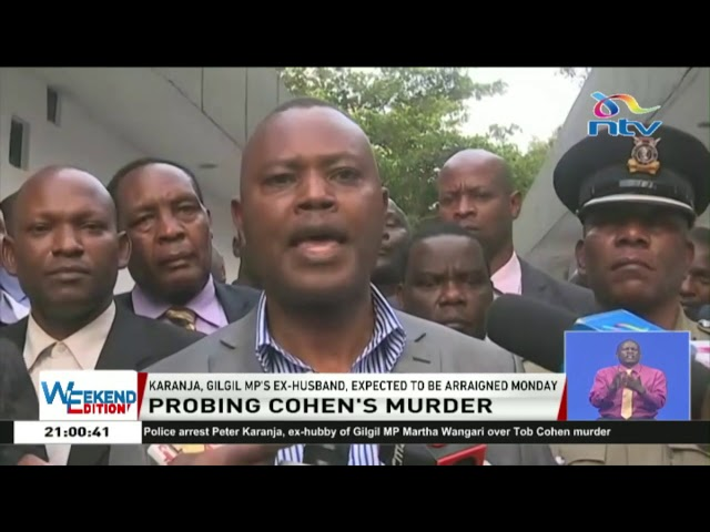 Tob Cohen's Murder: DCI look into financial transactions, communication between key suspects
