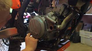 BIKE REPAIR   KTM 125 XC-W 2017