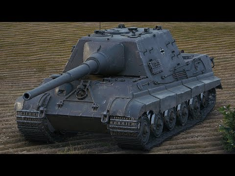 World of Tanks Jagdtiger - 7 Kills 8,8K Damage (1 VS 6) thumbnail