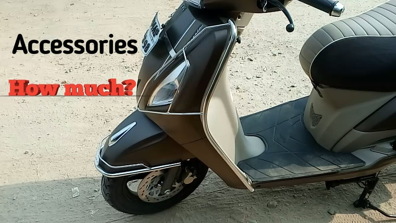 Tvs Jupiter Classic Autumn Brown Colour Accessories List And Their